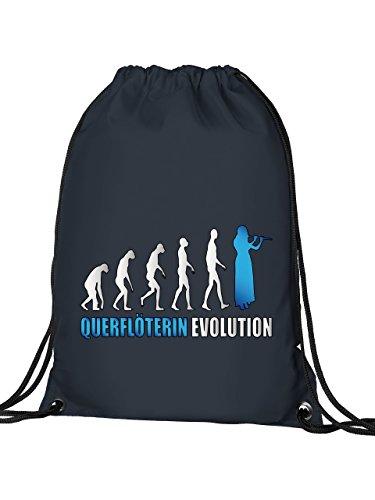 Golebros QUERFLÖTERIN EVOLUTION 4589 Turnbeutel (Navy-Blau)