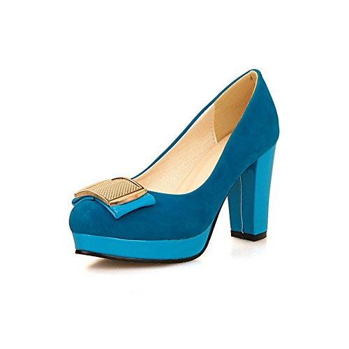 BalaMasaApl10256 - Sandali con Zeppa donna Blue