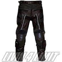 d24aec7e670 4LIMIT Sports 400102001102 Pantalones Moto de Cuero