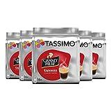 grandmere Espresso cápsulas de café para Tassimo, Shot taza tamaño–(5unidades, total 80discos T)