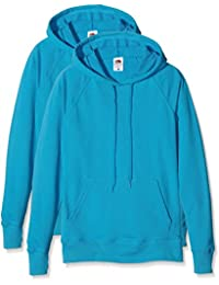 Fruit of the Loom Ladies Lightweight Hooded, Sweat-Shirt Femme