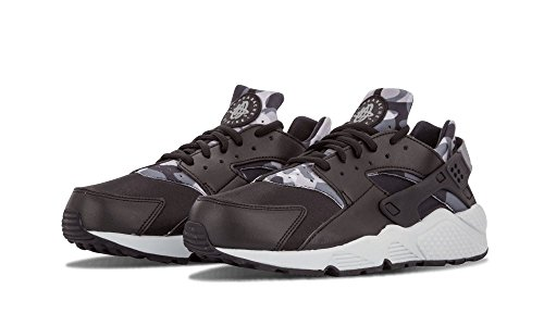 Nike - Wmns Air Huarache Run Print, Scarpe sportive Donna Nero (Black / Cool Grey)