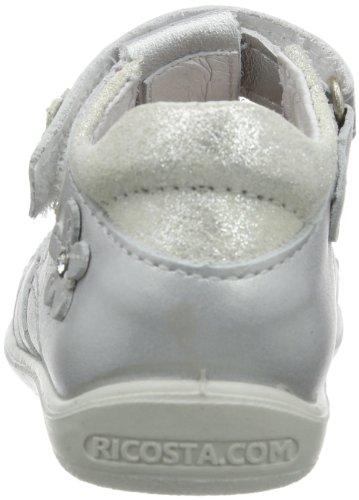 Ricosta Edyra(m), chaussures premiers pas mixte bébé Gris - Grau (silber 412)