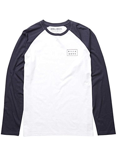 Billabong Herren Die Cut Tee Ls T-Shirt White