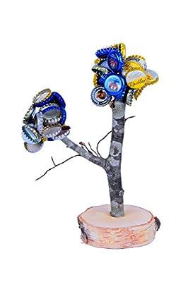 Arbre à capsules XXL Deggelbam -Avec deux branches-Le cadeau idéal pour les hommes