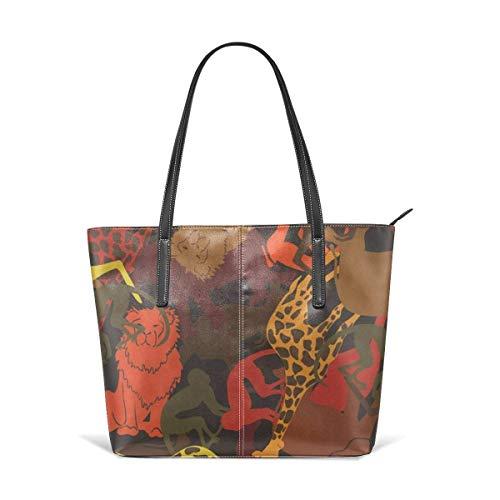 Oversized Travel Tote (Mode Handtaschen Einkaufstasche Top Griff Umhängetaschen Women's Stylish Casual Tote Bag Travel Bags - Animal Shoulder Bags)