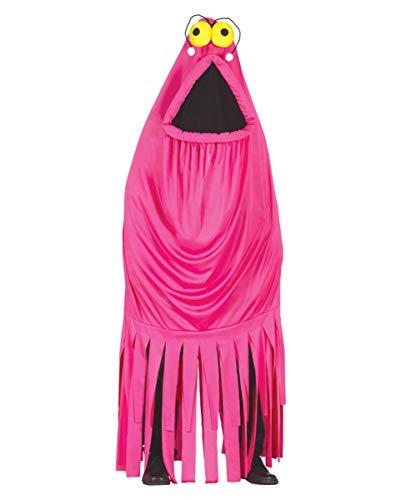 (Horror-Shop Pinker Außerirdischer Kostüm One Size)