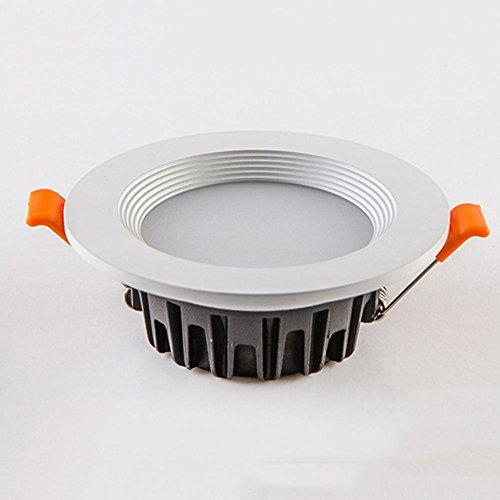 LED Einbaustrahler 6 Packs / Downlight Integrierte Ultra Slim Strahler / 3W2.5 Zoll (Loch 75-80mm) / für Wohnzimmer Schlafzimmer Küche , 6pcs D