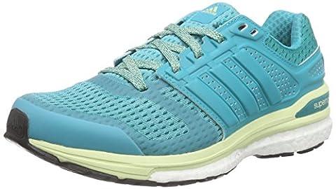 adidas Supernova Sequence Boost 8, Women's Running Shoes, Green (Shock Green S16/Shock Green S16/Halo S16), 6
