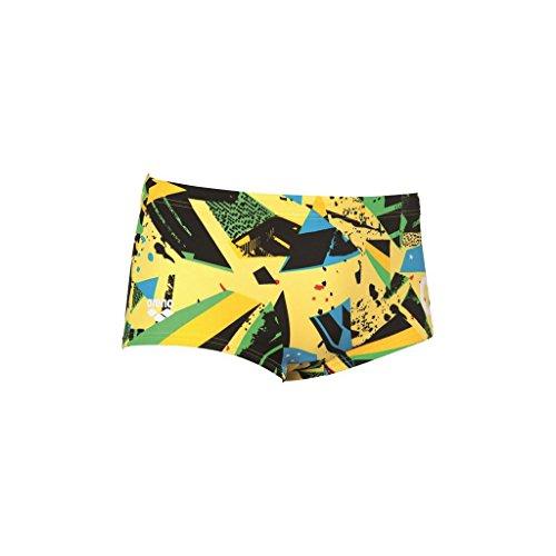Arena M C le C Low Waist Short Yellow Star - Multi