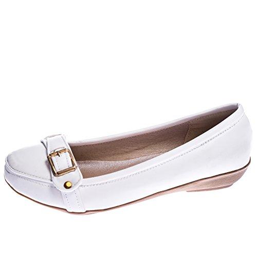 Ça Va Bien Fashion, Mocassini donna Optic White