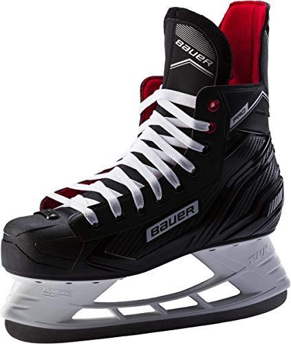 Bauer Herren Eishockey-Schlittschuhe Complet Pro Skate schwarz/Weiss (910) 10