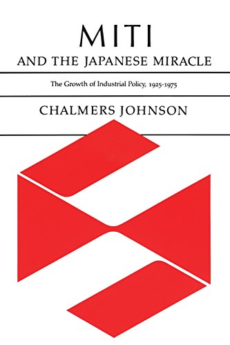 MITI and the Japanese Miracle: The Growth of Industrial Policy, 1925-1975