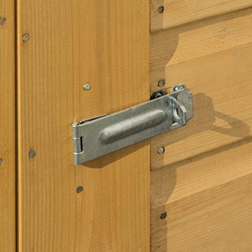 41kd8xyNdkL. SS500  - Mini Wooden Store Small Outside Storage Unit with Shiplap Cladding