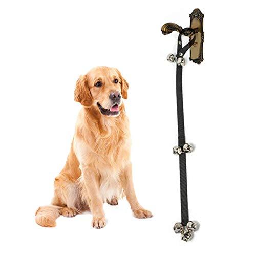 ANSLYQA Hundeglocke mit Glocke für Töpfchentraining, verstellbar, 7 Glöckchen (Töpfchen Hund Bell)