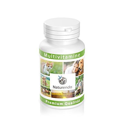 Naturendo® 180 Multi-Vitamin-Tabletten - für Vitale Hunde - Für alle Hunderassen geeignet (Welpen)