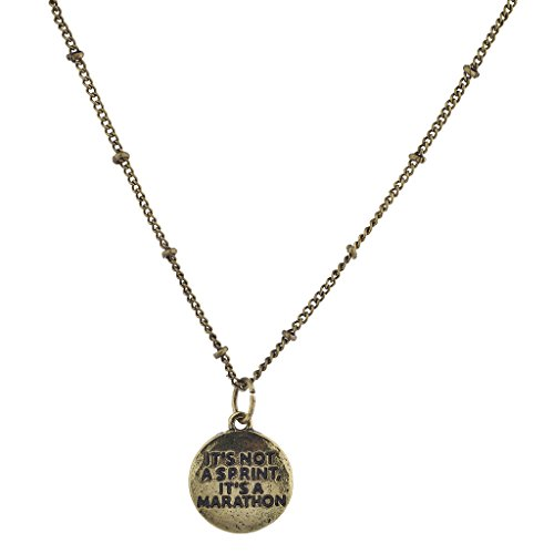 lux-accessories-oro-brunito-its-not-a-sprint-its-a-marathon-pendant-necklace