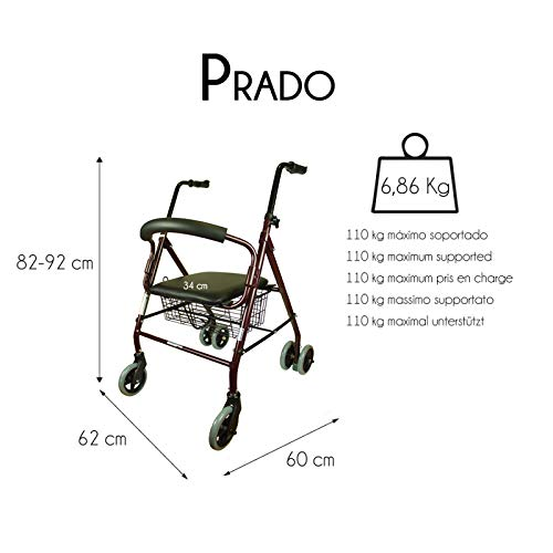 Mobiclinic Prado Andador para adultos