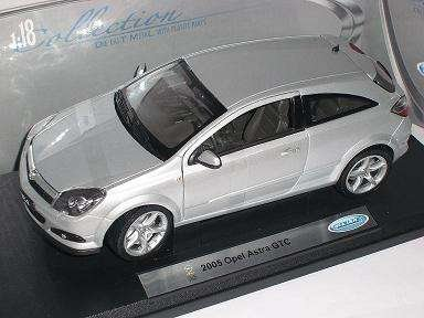 Opel Astra Gtc Coupe Silber Silver 2005 Metallmodell 1/18 Welly Modellauto Modell Auto
