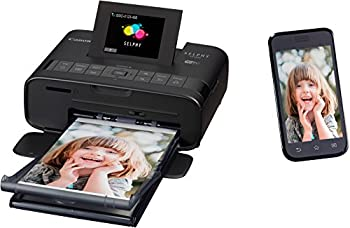 Selphy Cp1200 Wireless Compact Photo Printer- Black 6