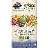 Garden of Life mykind Organics Men's Once Daily - 30 Tabletten Bio Multivitamin für Männer