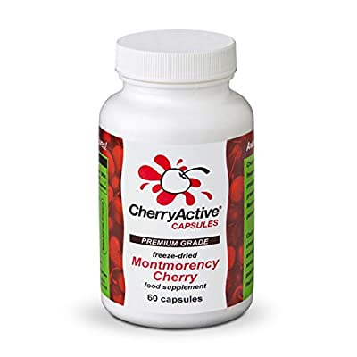 Cherry Active Capsules 60 caps - Pack of 12 by CHERRY ACTIVE