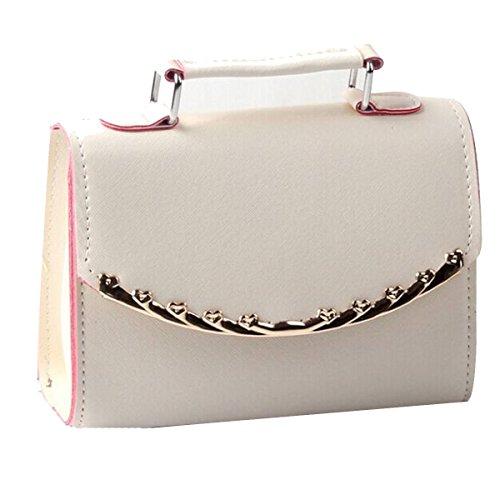 Damen Handtaschen Damen Wasserdichte Umhängetasche Taschen Mehrfarbig Beige