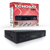 Echosat 20700 Sat Receiver - Digitaler HD Receiver (HDTV, DVB-S/S2, HDMI, SCART, 2x USB 2.0, Full HD 1080p) [Vorprogrammiert für Astra Hotbird Türksat]