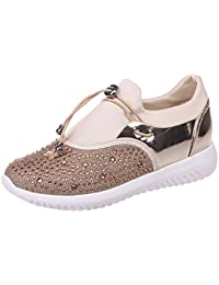 Zarupeng Unisex Casual Sneakers Sports Running Breathable Mesh Shoes