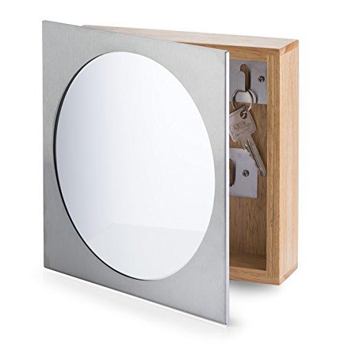 Zeller 13845 - Armario para llaves con espejo,...