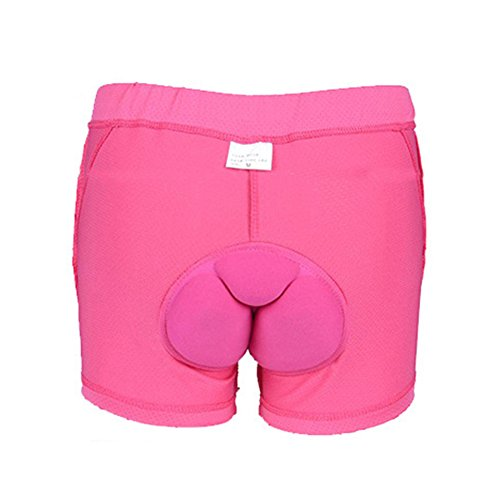 Tookie Unisex 3D Intimo Imbottito, Pantaloni Corti Cuscino Pad Anti-Shock Biancheria Intima per Ciclismo da Uomo e da Donna, 15#,...