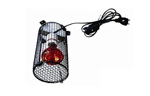 Portalampada con rete Repta Round Cage -