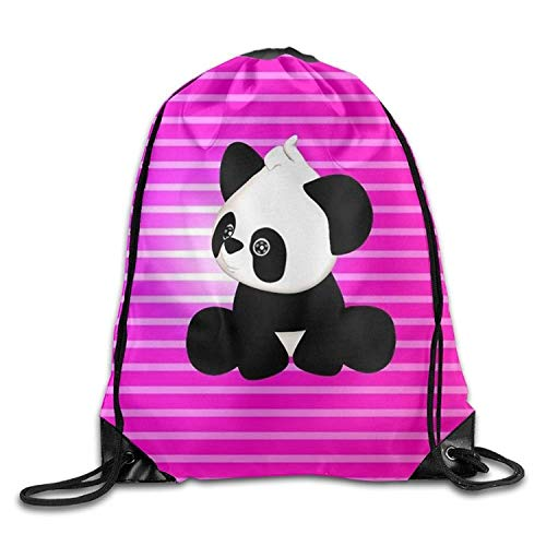 Gym Drawstring Bag Backpack Cool Panda Baby Cyber Monday Unisex Gym Shoulder Bag String Bags -