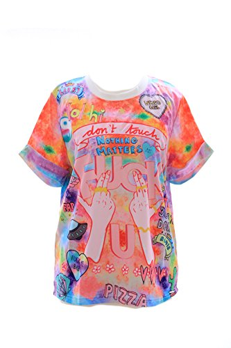 T-10 Lolita T-Shirt Funky Funny Hands Harajuku Japan Trend Fashion Kawaii-Story (Frauen T-shirts Toy Story)