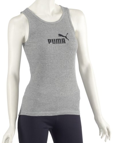 Puma No. 1 Débardeur pour femme grey - athletic gray heather-white