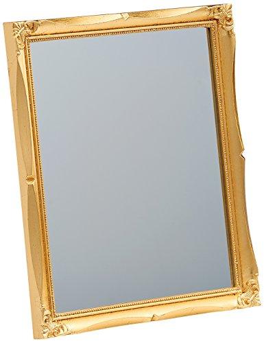 walther design Wohnraumspiegel, Plastik, Gold