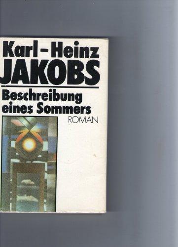 Beschreibung eines Sommers. 1. Auflage.