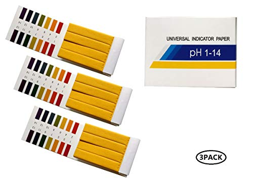 Fontee® 240 tiras tornasol pH 1 14 papel prueba-