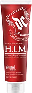 Devoted Creations Ultimate Dark Tanning Bronzing with Tingle Sensation Sunbed Lotion for Him 270ml
