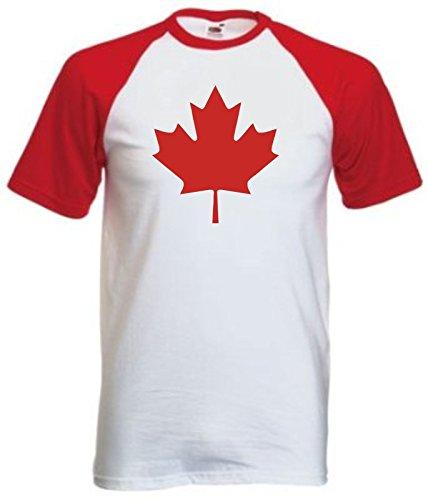 Preisvergleich Produktbild Bullshirt Herren T-Shirt Weiß Weiß Gr. X-Large, Weiß - Weiß/Rot