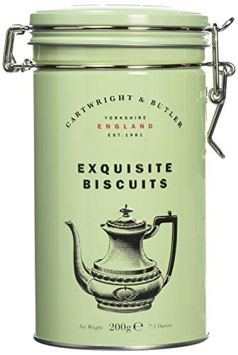 Cartwright & Butler Salted Caramel Biscuits in Tin