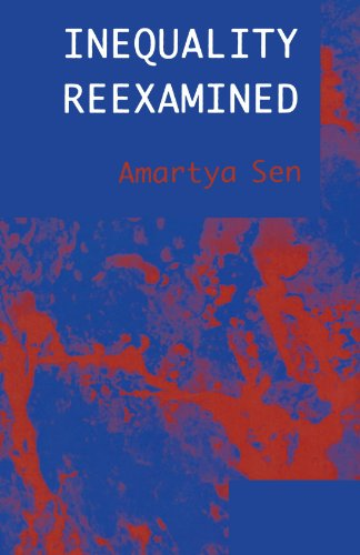 Inequality Reexamined by Amartya Sen