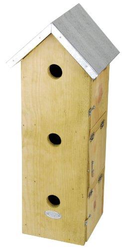 Esschert Design NKM 51x 20x 17cm Holz Sparrow flach-Natürliche