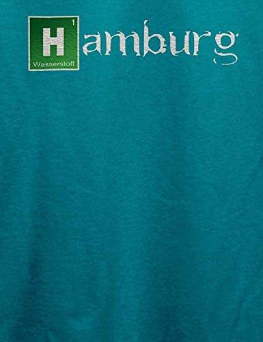 Hamburg T-Shirt Türkis