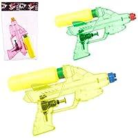 JUINSA Pistola De Agua Transparente 19cm 3 Colores Surtido A Elegir 1