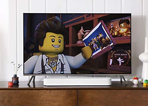 41kdLmn64DL [Bon Plan Amazon] Sonos Beam - La Barre de Son TV compacte et intelligente avec le service vocal Amazon Alexa intégré. Home Cinéma multiroom sans Fil et musique en Streaming dans toutes les pièces - Blanc