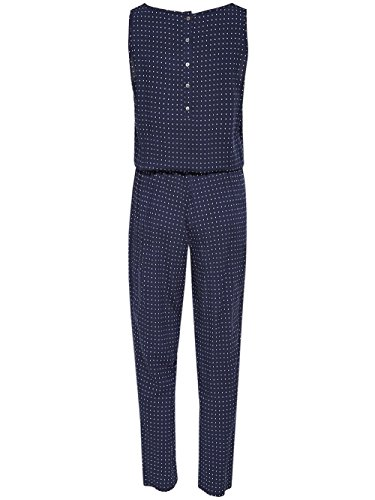 ONLY Damen Onlnova S/L Aop Jumpsuit Wvn Mehrfarbig (Night Sky Aop:Nova Dot)