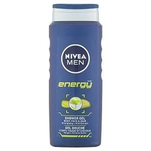 Nivea Men Energy Shower Gel, 500ml