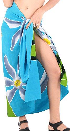 Verpackung Pareo Bademode Rock verschleiern Badeanzug Badebekleidung Frauen Sarong Pool Abnutzung Badeanzug Zeitkleidung Türkis