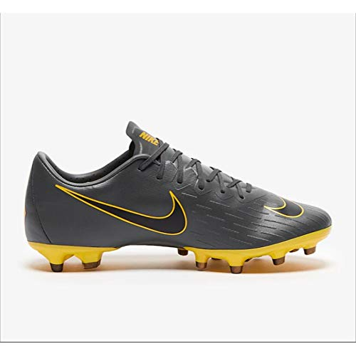 Nike Mercurial Vapor XII Pro AG-PRO Football Boot Dark Grey/Black-Opti Yellow Continuativa 45 Dark Grey/Black-Opti Yellow -